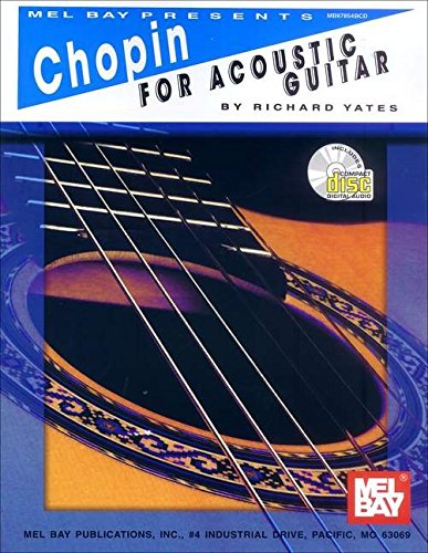 9780786644179: Chopin for Acoustic Guitar