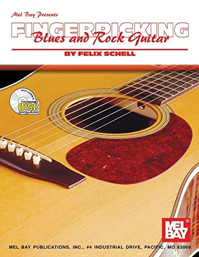 9780786644186: Mel Bay Fingerpicking Blues and Rock Guitar