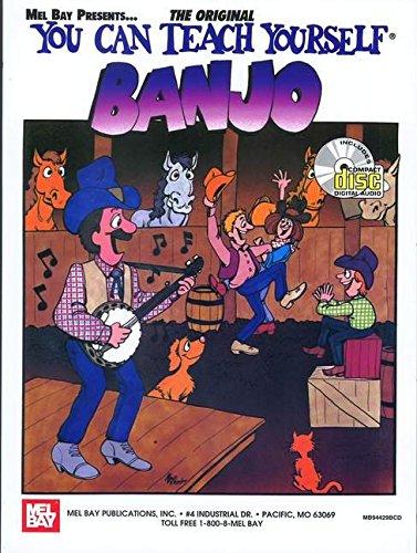 9780786644445: You Can Teach Yourself Banjo (Book/CD Set)
