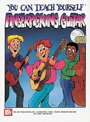 9780786646661: Mel Bay You Can Teach Yourself Fingerpicking Guitar with CD (Audio)