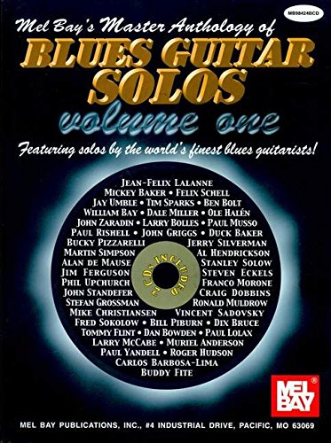 9780786647248: Mel Bay's Master Anthology of Blues Guitar Solos: 1