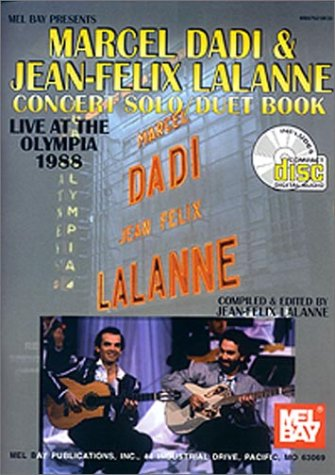 9780786647903: Marcel Dadi & Jean-Felix Lalanne: Concert Solo Duet Book/Live at the Olympia 1988