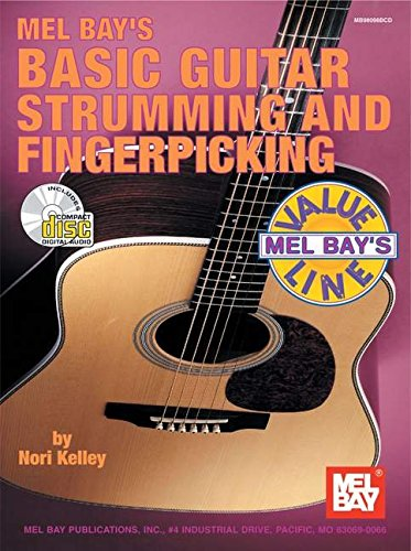 9780786648016: Mel Bays Basic Guitar Strumming and Fingerpicking