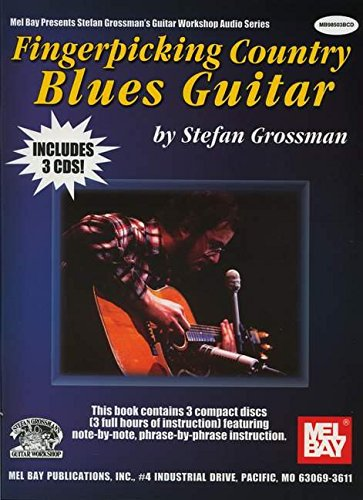 9780786648993: Fingerpicking Country Blues Guitar (Stefan Grossman'S Guitar Workshop Audio)