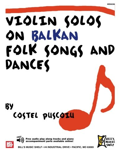 9780786649150: Violin Solos on Balkan Folk Songs and Dances