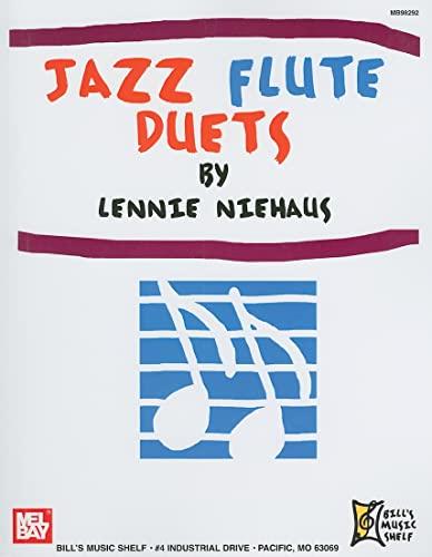 Jazz Flute Duets (Paperback): Lennie Niehaus