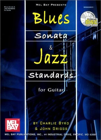 9780786649693: Blues Sonata and Jazz Standards for Guitar