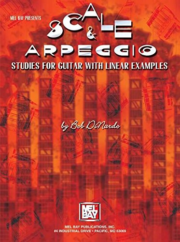 9780786649761: Scale & Arpeggio Studies for Guitar with Linear Examples