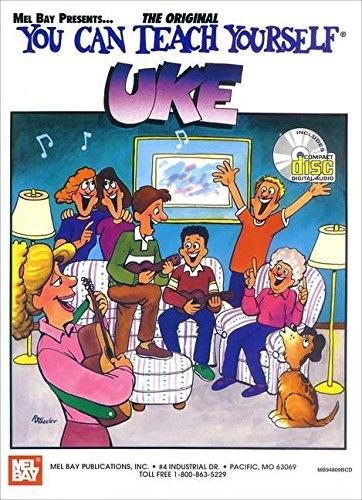 9780786650095: Mel Bay's You Can Teach Yourself Uke Book/ CD set