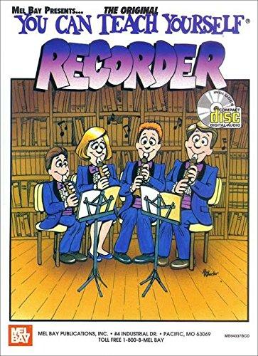 9780786650118: Mel Bay You Can Teach Yourself Recorder Book/CD Set