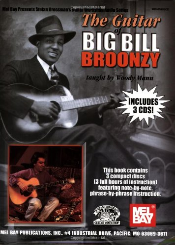 9780786650255: The Guitar of Big Bill Broonzy: taught by Woody Mann