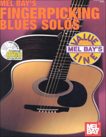 9780786650705: Mel Bay Value Line: Fingerpicking Blues Solos (Book & CD)