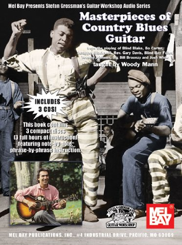 9780786650927: Masterpieces of Country Blues Guitar (Stefan Grossman's Guitar Workshop Audio)