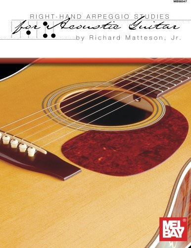 9780786651016: Mel Bay Right-Hand Arpeggio Studies for Acoustic Guitar