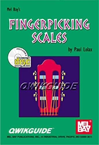 Mel Bay Qwikguide/ fingerpicking Scales BCD (Qwikguide): Paul Lolax