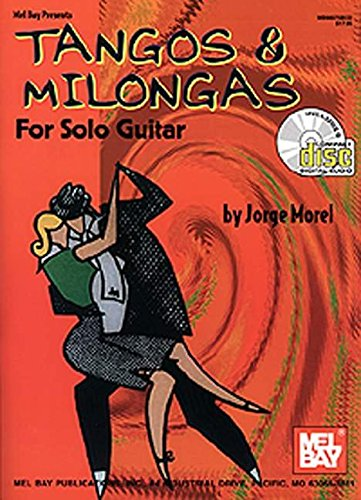 9780786652495: Mel Bay Tangos and Milongas for Solo Guitar book and CD set