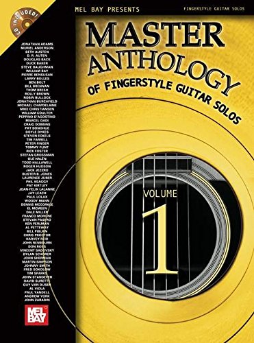 9780786652907: Master Anthology of Fingerstyle Guitar Solos: Featuring Solos by the World's Finest Fingerstyle Guitarists! Vol. 1