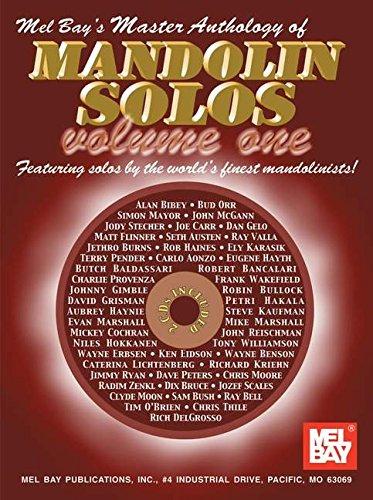 9780786652921: Mel Bay Master Anthology of Mandolin Solos, Vol. 1