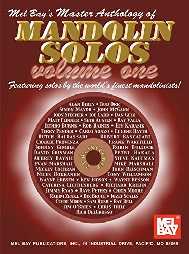9780786652921: Mel Bay Master Anthology of Mandolin Solos, Vol. 1