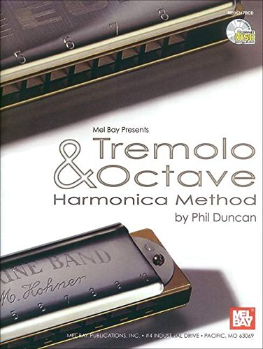 9780786653461: Tremolo & Octave Harmonica Method