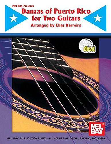 9780786653669: Mel Bay Danzas of Puerto Rico for Two Guitars