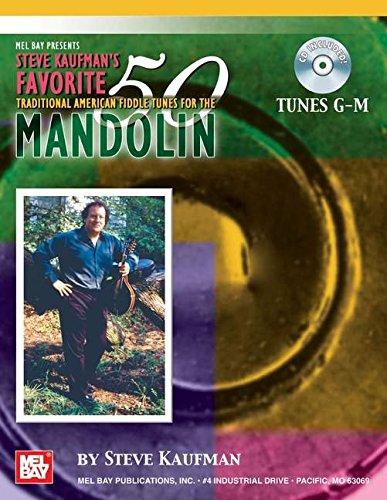 9780786654161: Steve Kaufman'S Favorite 50 Mandolin, Tunes G-M +CD