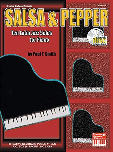 9780786654192: Mel Bay Salsa & Pepper: Ten Latin Jazz Solos for Piano