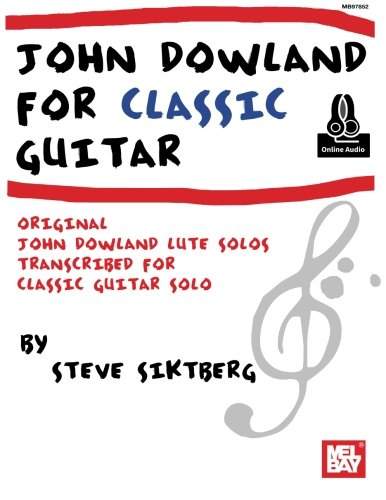9780786654284: JOHN DOWLAND FOR CLASSIC GUITAR