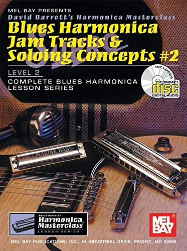 9780786656547: Blues Harmonica Jam Tracks and Soloing Concepts #2