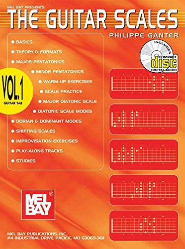 9780786656554: Mel Bay Guitar Scales Volume 1