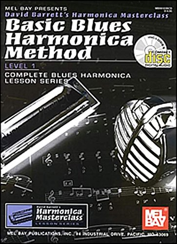 9780786656561: Basic Blues Harmonica Method, Level 1: Level 1, Complete Blues Harmonica Lesson Series (Harmonica Masterclass Lesson)