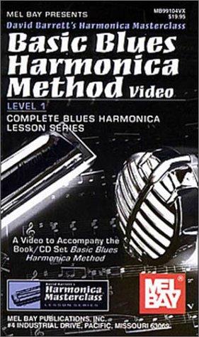 9780786656578: Mel Bay Basic Blues Harmonica Method Video