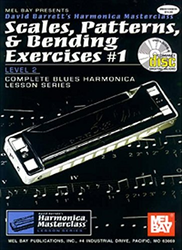 9780786656615: Scales, Patterns & Bending Exercises #1 (Harmonica Masterclass Lesson)