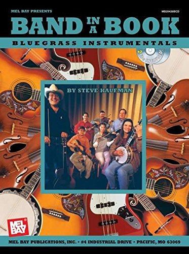 9780786656936: Band in a Book: Bluegrass Instrumentals +CD