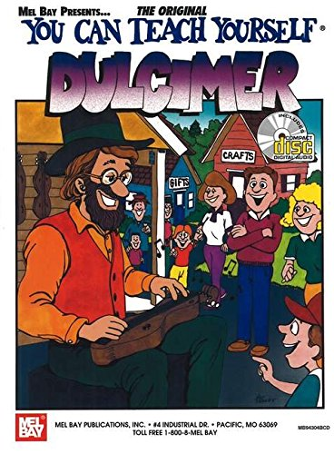 9780786657032: You Can Teach Yourself Dulcimer (Book with CD)
