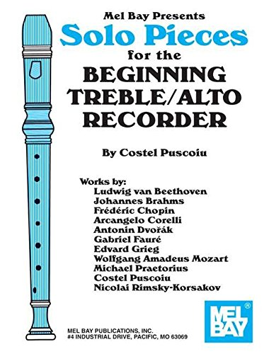 9780786657063: Mel Bay Solo Pieces for the Beginning Treble/Alto Recorder