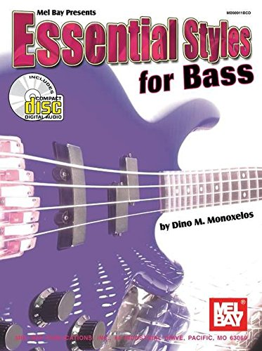 9780786657278: Mel Bay Essential Styles For Bass: Book/CD Set