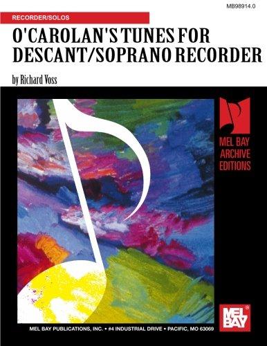 9780786657285: O'Carolan's Tunes For Descant/Soprano Recorder