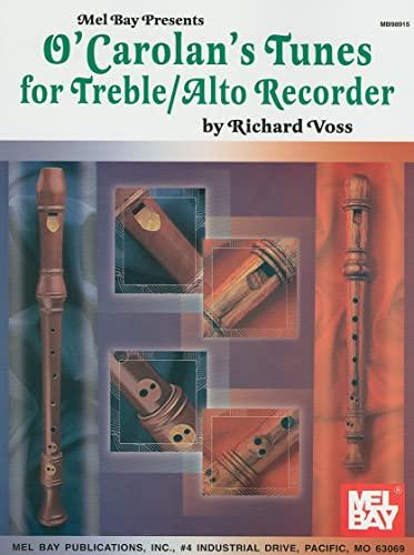 9780786657292: O'Carolan's Tunes for Treble/Alto Recorder