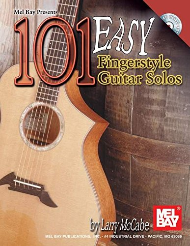 9780786657933: 101 Easy Fingerstyle Guitar Solos