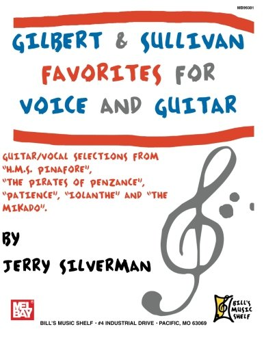 9780786658268: Gilbert and Sullivan Favorites for Voice and Guitar