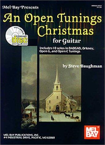 An Open Tunings Christmas for Guitar Book/Cd Set: Steve Baughman