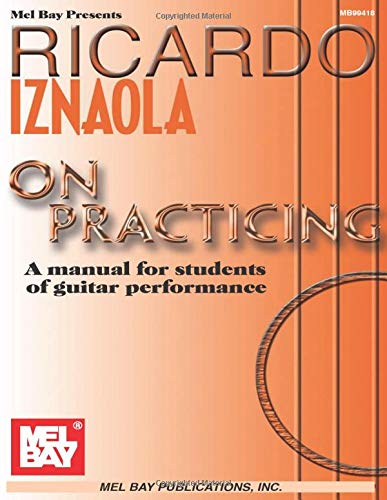 9780786658732: Ricardo Iznaola on Practicing: A Manual for Students of Guitar Performance