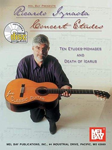 9780786658749: Mel Bay Ricardo Iznaola - Concert Etudes Book/CD Set