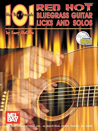 9780786659012: Mel Bay 101 Red Hot Bluegrass Guitar Licks and Solos