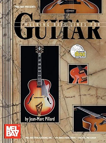 9780786659067: Walking Bass Lines for Guitar Guitare+CD