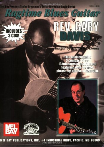 9780786659210: Ragtime Blues Guitar of Rev. Gary Davis