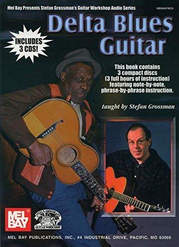 9780786659241: Delta Blues Guitar (Stefan Grossman's Guitar Workshop Audio Series)