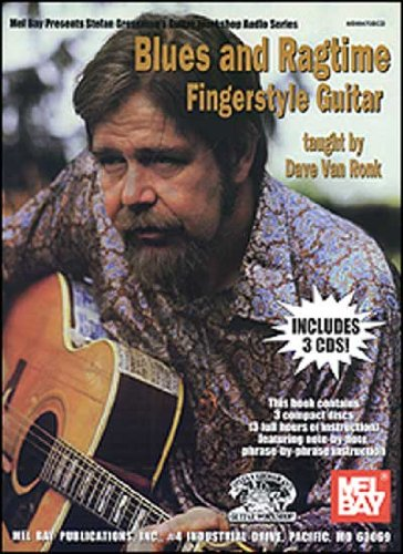 Blues and Ragtime Fingerstyle Guitar: Dave Van Ronk