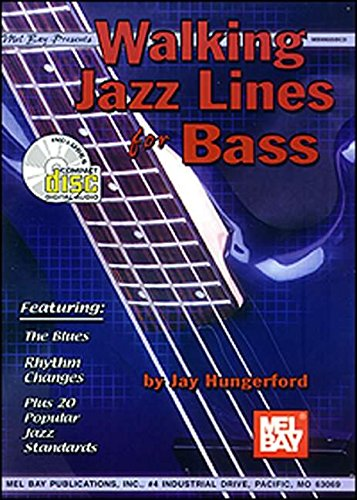 9780786659968: Mel Bay Presents Walking Jazz Lines for Bass